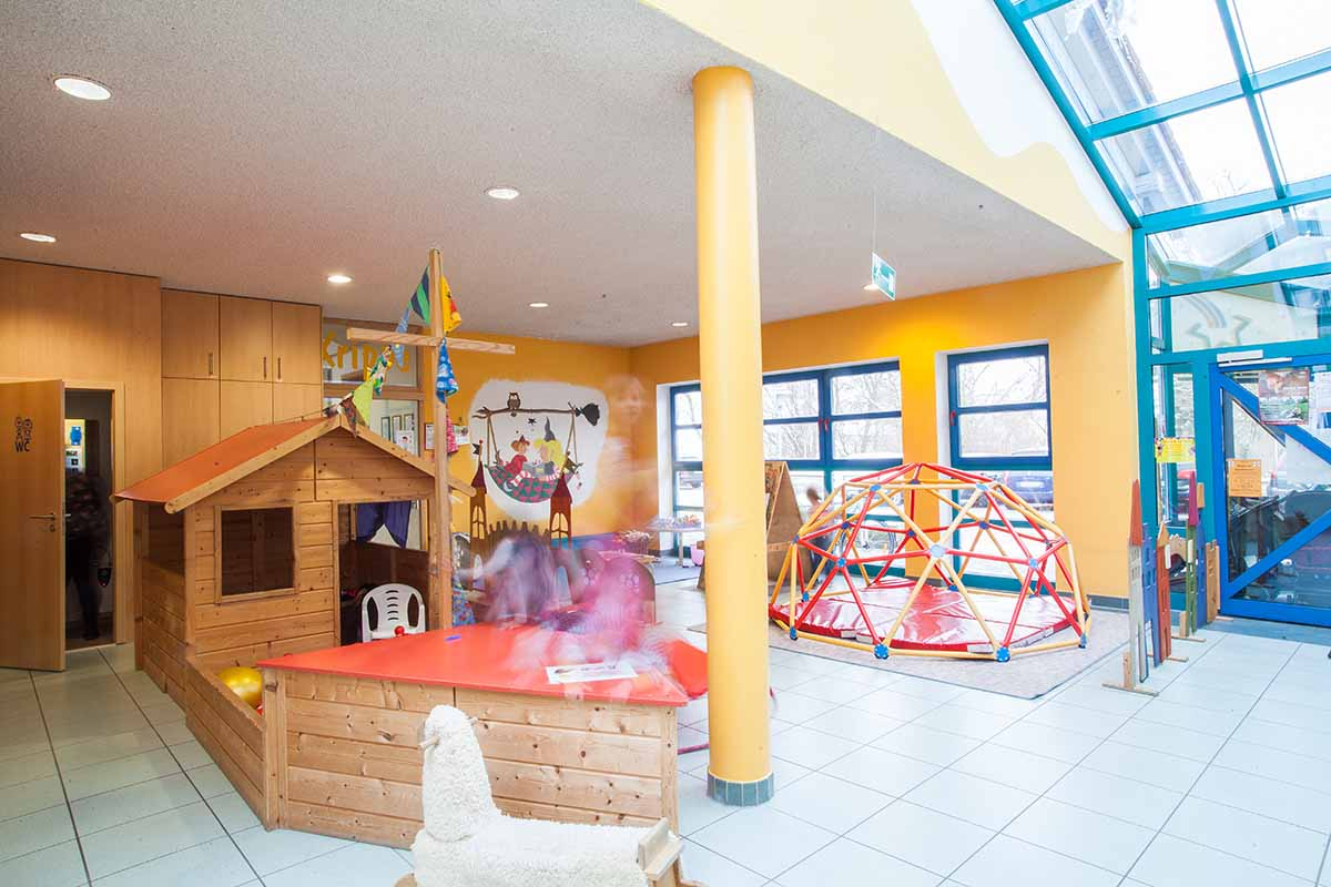 Kindergarten-eingang