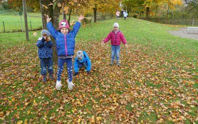 Herbst im Kindergarten 2020